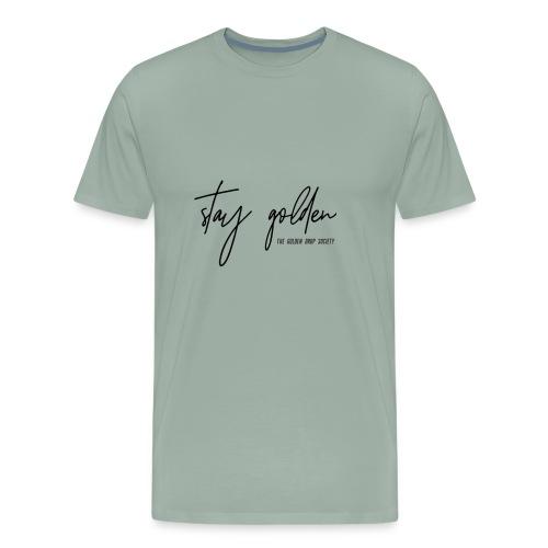 Stay Golden Black - Men's Premium T-Shirt