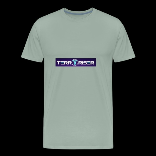 terroriser purple logo twitch 2 - Men's Premium T-Shirt