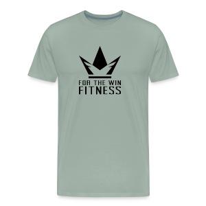 For the Win Fitness - Black - Men's Premium T-Shirt
