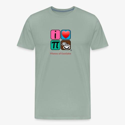 color with text - Men's Premium T-Shirt