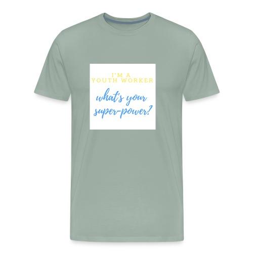 Super Hero - Men's Premium T-Shirt