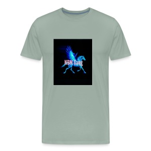 Blue Mustang iphone case (NBM Gang) - Men's Premium T-Shirt