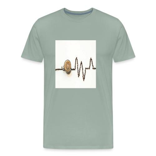 Amo el café - Men's Premium T-Shirt