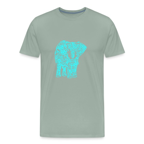 Blue Elephant - Men's Premium T-Shirt