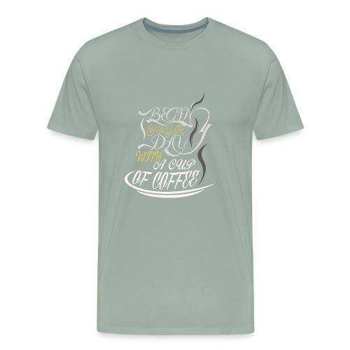 Coffee Addict - Men's Premium T-Shirt