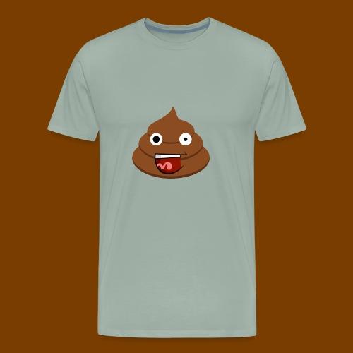Poop Logo - Men's Premium T-Shirt