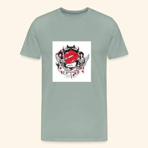 kiss t shirt - Men's Premium T-Shirt