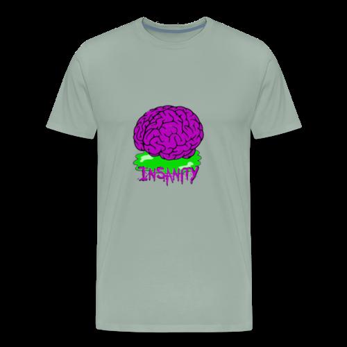 Insanity Servers Logo - Men's Premium T-Shirt