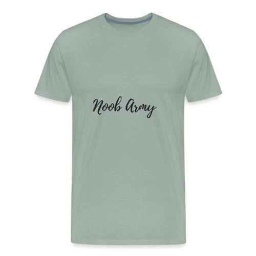 Noob Army (No Symbol) - Men's Premium T-Shirt
