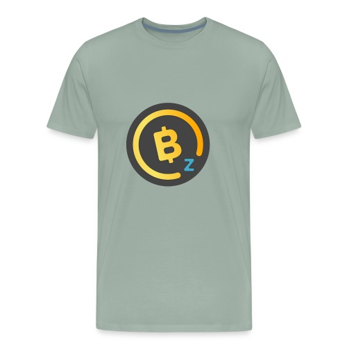 BitcoinZ Logo - Men's Premium T-Shirt