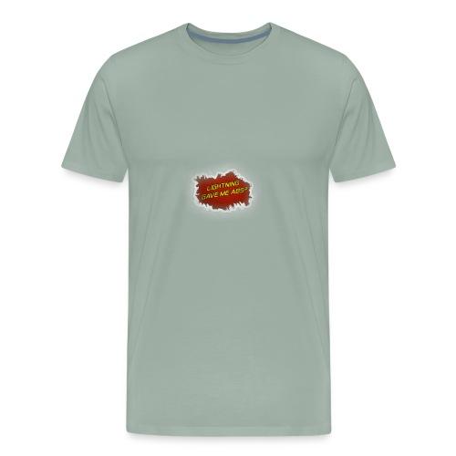 Lighting gave me Abe's - Men's Premium T-Shirt