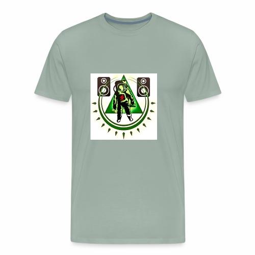 Chaos The Spaceman Logo - Men's Premium T-Shirt