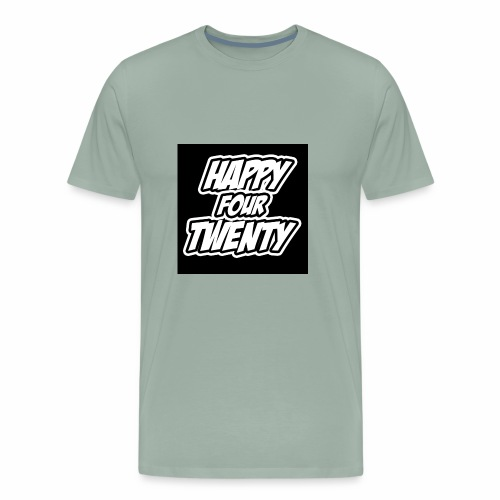 HAPPY FOUR TWENTY - Men's Premium T-Shirt