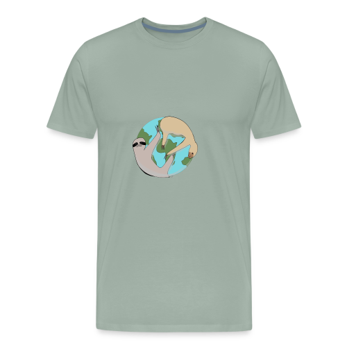 Sloths Saving the World - Men's Premium T-Shirt
