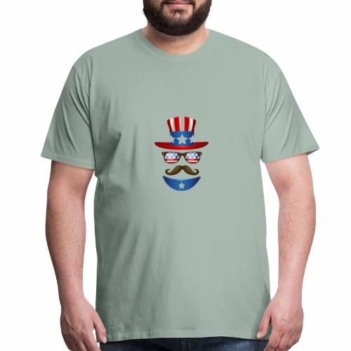 4th of July t-shirt USA independence day - Men's Premium T-Shirt