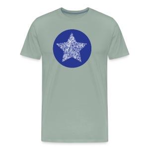 Sketchy star - Men's Premium T-Shirt