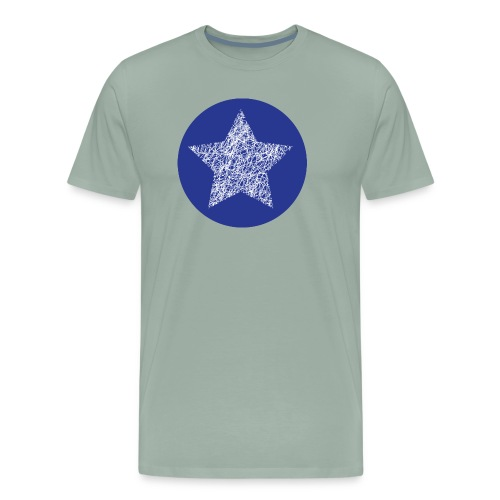 Sketchy star - Men's Premium T-Shirt