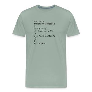 JavaScript - Men's Premium T-Shirt
