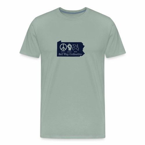 Pennsylvania State 3WC logo - Men's Premium T-Shirt