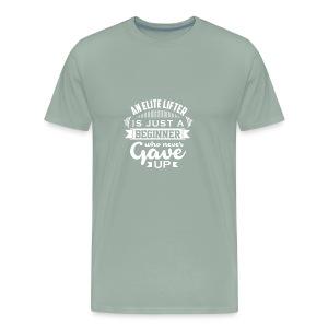Elite lifter 1 - Men's Premium T-Shirt
