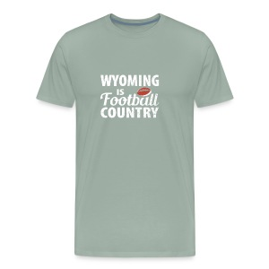 Wyoming Football - Men's Premium T-Shirt