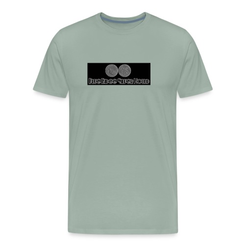 Blue Ridge Silver Hound 1907 Double Eagle - Men's Premium T-Shirt
