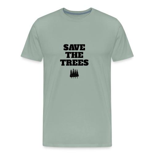 Save The Trees - Men's Premium T-Shirt