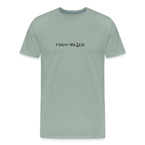 Man of Water Main Logo - Men's Premium T-Shirt