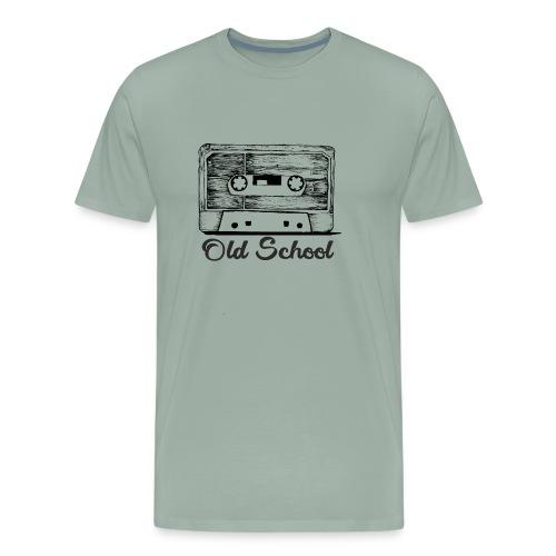 old school breakdancing K7 - Men's Premium T-Shirt