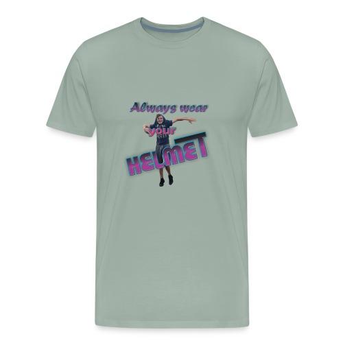 Mr. Giraffe Design 5 - Men's Premium T-Shirt