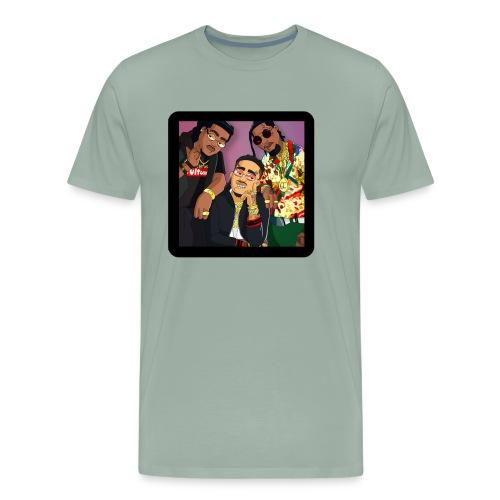 Migos Retro - Men's Premium T-Shirt