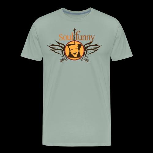 Soulfunny Logo - Men's Premium T-Shirt