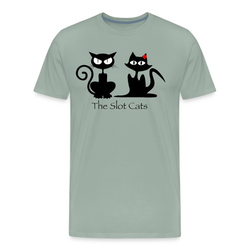 The Slot Cats Logo - Men's Premium T-Shirt