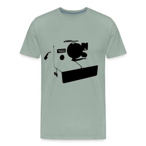 Polaroid Vintage 80s Retro Camera - Men's Premium T-Shirt