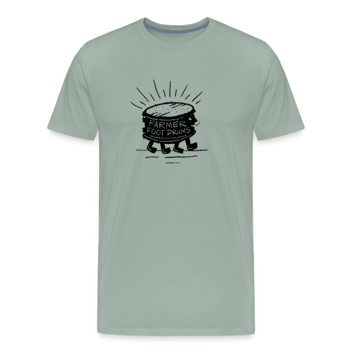Farmer Foot Drums - Men's Premium T-Shirt