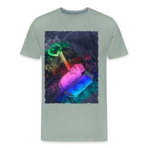 Mjöelnir - Thor's Hammer - Men's Premium T-Shirt