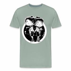Gemini Original Zodiac Sign - Men's Premium T-Shirt
