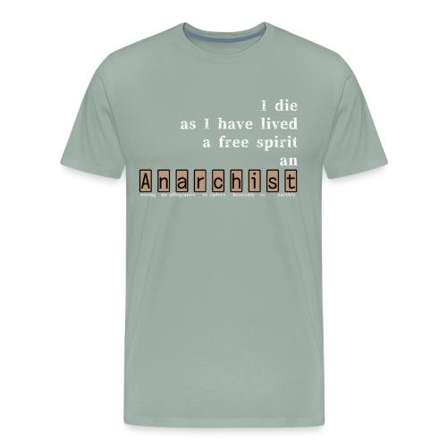 Anarchist - Men's Premium T-Shirt