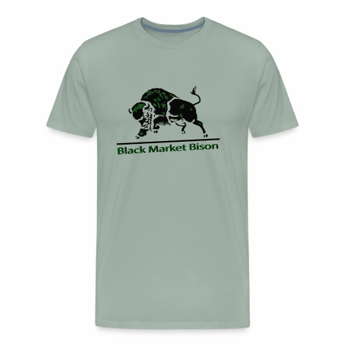 Black Market Bison - Men's Premium T-Shirt