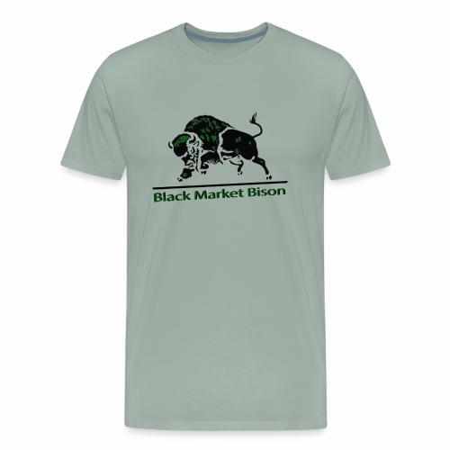 Black Market Bison - Men's Premium T-Shirt