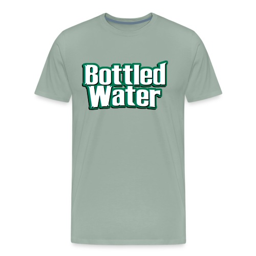 Bottled Water - Men's Premium T-Shirt