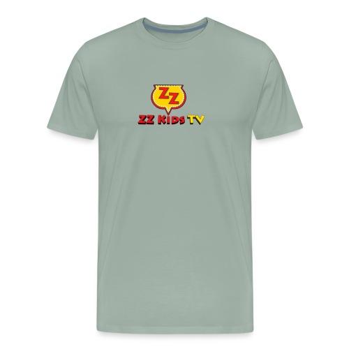 zzkidstv logo - Men's Premium T-Shirt