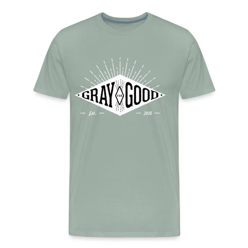 Gray for Good Diamind Applique Original - Men's Premium T-Shirt