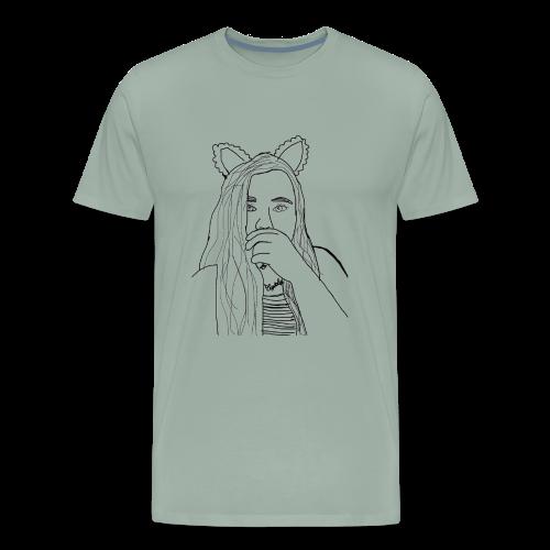 Ekcat Sketch Collection - Men's Premium T-Shirt