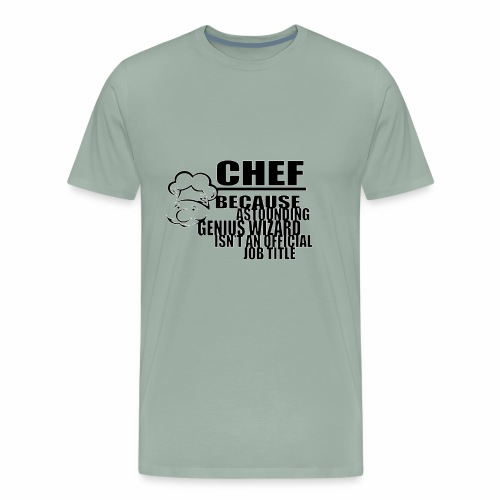 CHEF - Men's Premium T-Shirt