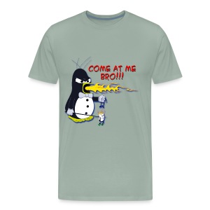 Guin - The P.O.'d Penguin - Men's Premium T-Shirt