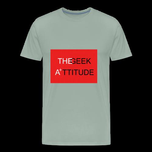 the geek attitude - Men's Premium T-Shirt