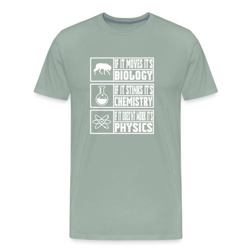 Funny Sciences Meme Shirt - Men's Premium T-Shirt