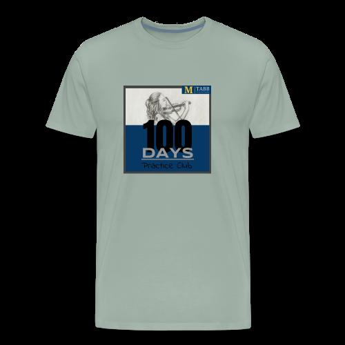 100 Days, Original Design - Men's Premium T-Shirt