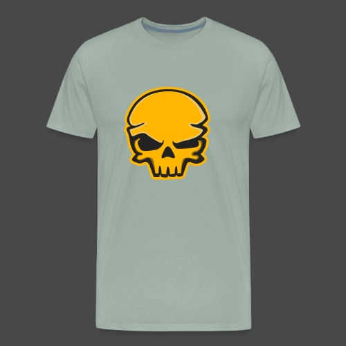 Gold Black Logo - Men's Premium T-Shirt